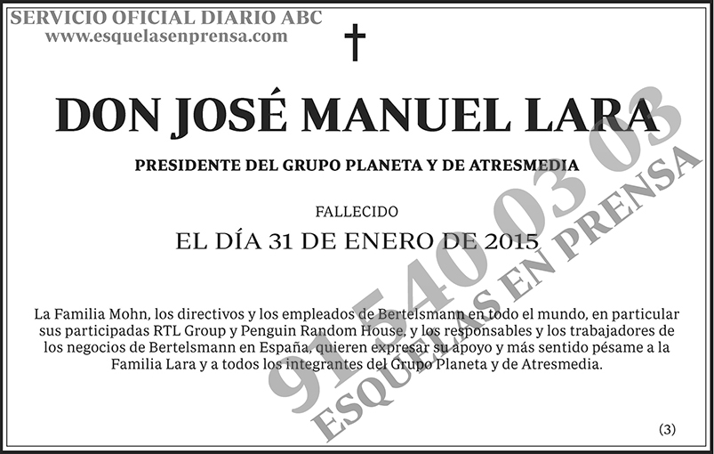José Manuel Lara